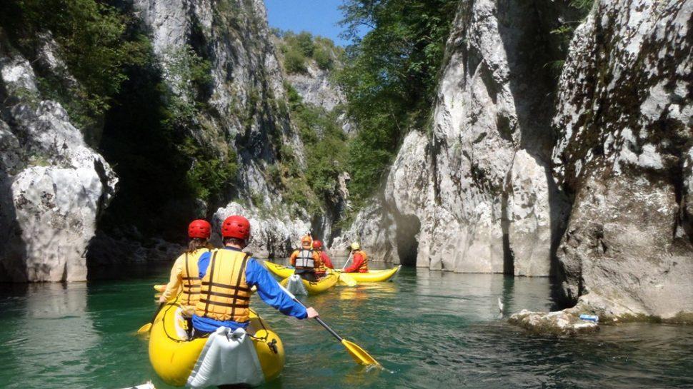 Mala letna Bosna - kajak - kanoe