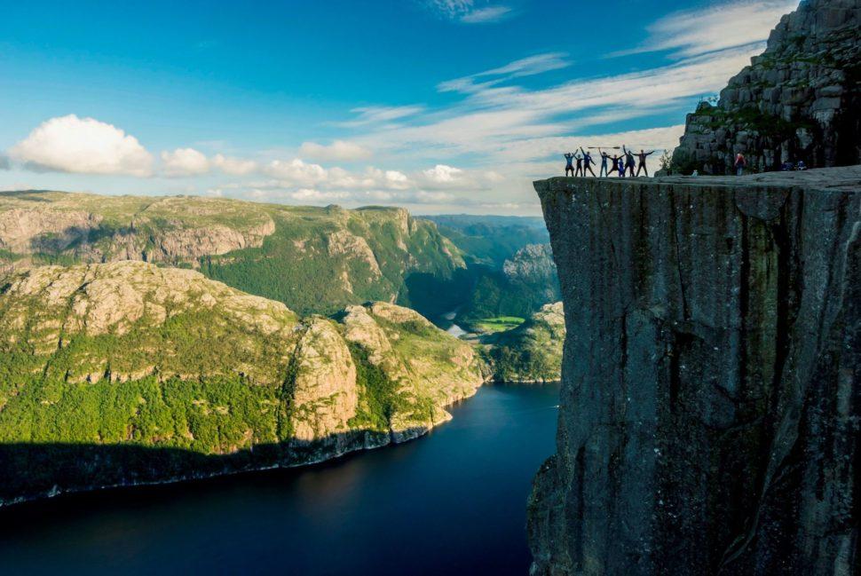 seakyak - Norsko - Lysefjord - Preikestolen