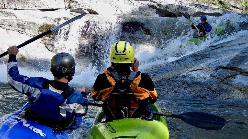Corsika Kayak Creeking
