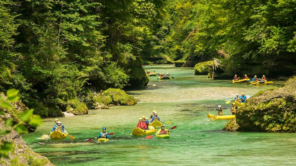 splavy riek – divoká voda