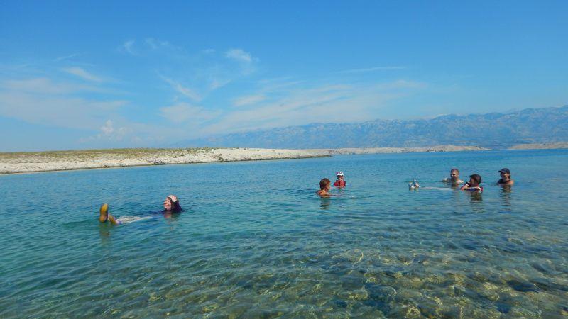 Seakajak kemp Chorvatsko